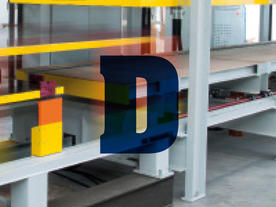 Ditech: Discontinuous sandwich panel line