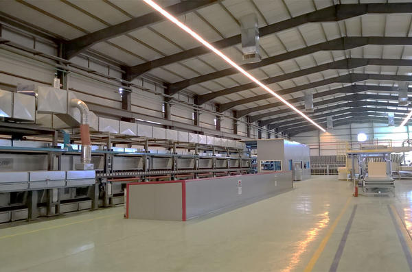 CONTITECH for the largest plant in Africa for continuous production of sandwich panels